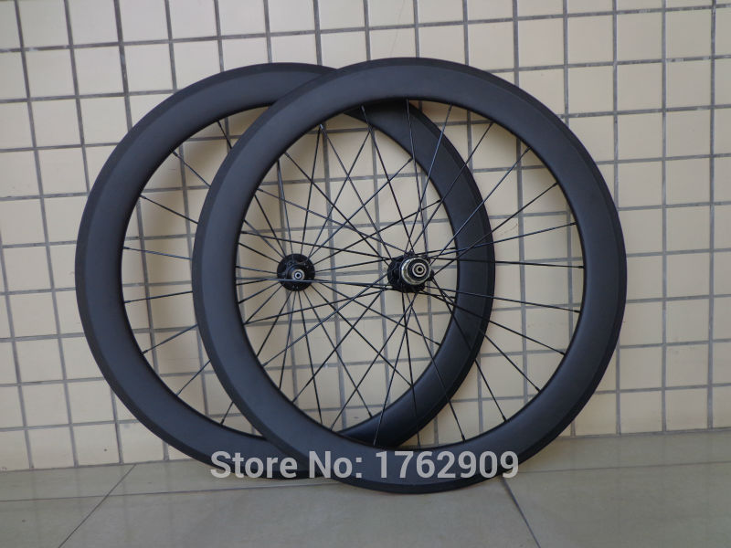 1pair New 700C 60mm clincher rims Road bicycle matte UD full carbon fibre bike wheelsets 20.5 23 25mm width aero spoke Free ship1pair New 700C 60mm clincher rims Road bicycle matte UD full carbon fibre bike wheelsets 20.5 23 25mm width aero spoke Free ship