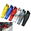 2016 HOT CNC Aluminum Rear Motorcycle Foot Peg Footrests For YAMAHA TMAX 500 T-MAX530 XP500 XP530 MT07 MT09 6COLOR Free shipping
