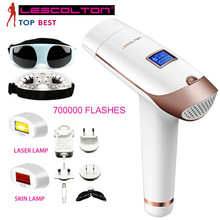 Hot Selling Portable Epilator Permanent Mini Laser Hair Removal Depilatory Laser Hair Removal Machine LCD Display LESCOLTON все цены