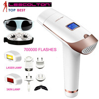 700,000 Times Depilador Portable Epilator Permanent Laser Hair Removal Depilatory Laser Hair Removal Machine LCD Display