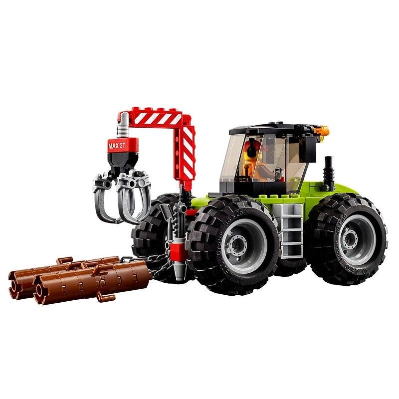 Achat Grands Forestier Tracteur Legoe Compatible Ville De Véhicules nwPkN08XOZ