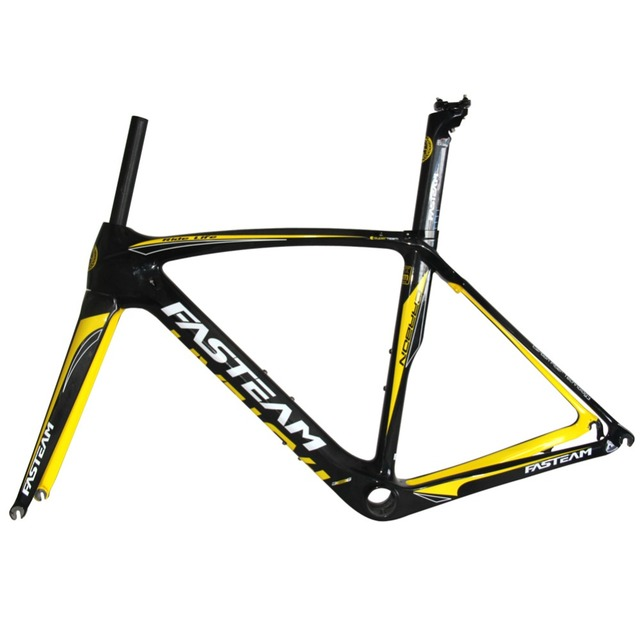Cheap Small Size New Carbon Road Frame For Women Road Bike frame Carbon Bike Frame UD Full Carbon Fiber Bicycle Frame in size 47cm