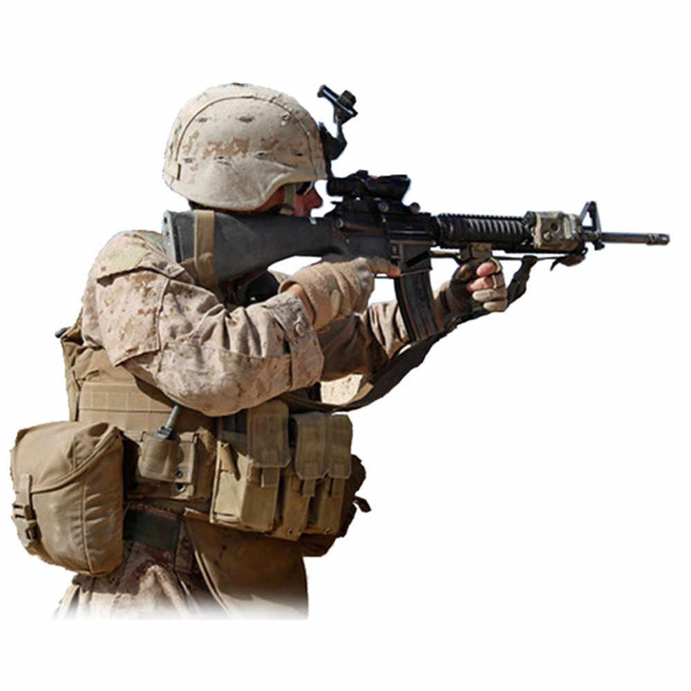 Verstelbare 3 Drie Punt Tactical Rifle Sling Airsoft Paintball Jacht SlingBelt Nylon 3 Kleuren Muti-functie Militaire Gun Strap