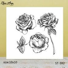 ZhuoAng  ST-592 transparent silicone stamp / DIY scrapbook photo album decorative seal