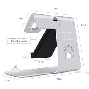 Image 2 - Szybka bezprzewodowa ładowarka 3 w 1 dla iPhone Xs/Apple Watch/Airpods bezprzewodowe ładowanie dla iPhone XsMas/Xr/8plus Samsung S9 S8