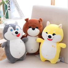 New Arrival Lovely Dog Plush Toy Eiderdown Cotton Stuffed Doll Plush Pillow Gifts For Children