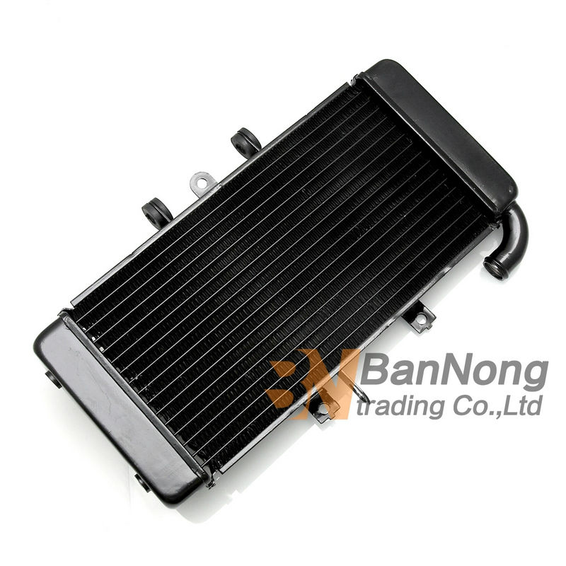 ФОТО Free Shipping Motorcycles Aluminium alloy water tank radiator / Water Cooler / For YAMAHA FZ400 1997-2011