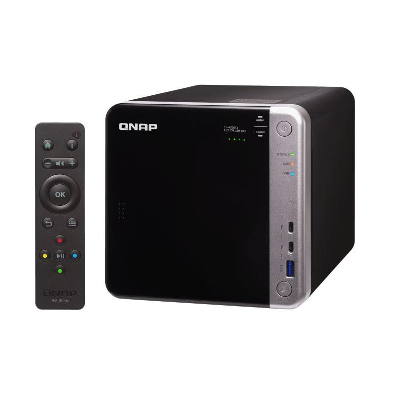 QNAP TS-453BT3  4-bay Diskless Nas, Nas Server Nfs Network Storage Cloud Storage, 8G Memory ,Thunderbolt 3 + 10GbE NAS