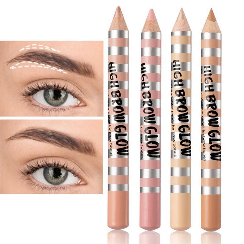 Menow Professional Eye Pencil Lying Silkworm Liner Pen Cosmetic Easy To Wear Pigment Waterproof White Eyeliner Make Up Pencil