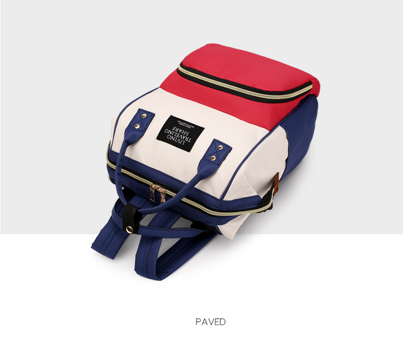 HTB1uI0gcG5s3KVjSZFNq6AD3FXaI Large Capacity Mummy Bag Maternity Nappy Bag Travel Backpack Nursing Bag for Baby Care Women's Fashion Bag
