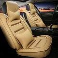 3D Styling cubierta de asiento de coche para Lincoln MKT MKX MKS mkc, alto contenido de fibra de cuero, cubiertas de autos