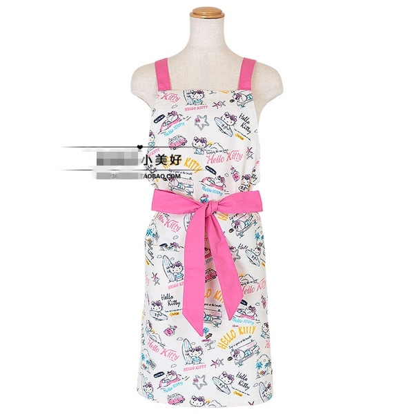 popular hello kitty apron-buy cheap hello kitty apron lots from