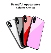 6000mah Ultra Thin Powerbank Battery Charger Cases For iPhone XS Max  Charging Case 9H Tempered Glass External Battery