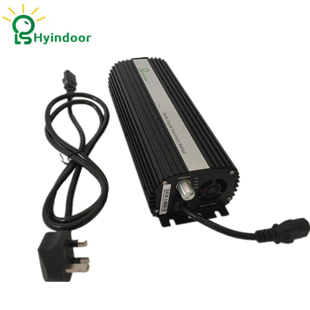 Beleuchtung Zubehör Uk-stecker 600 Watt Kompakte Dimmbare Digitale ...