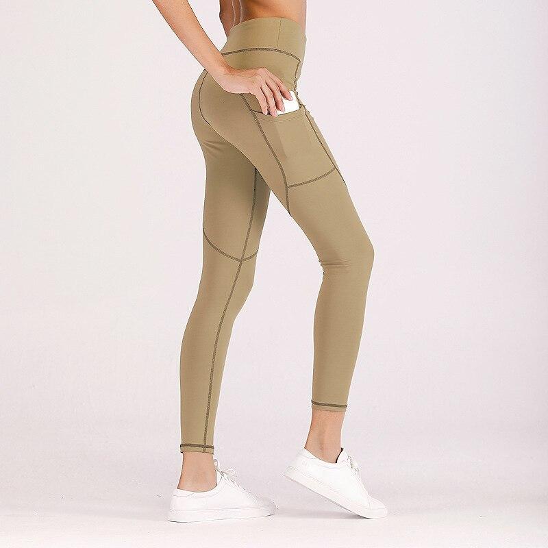 2018 Women Fashion Gothic Push Up Ladies Side pocket Pants Love Heart Black   Leggings   Casual Pants High Waist Sexy   Leggings
