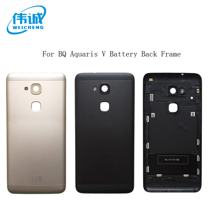 WEICHENG Battery Door Back Cover Housing Case For BQ Aquaris V Back Frame Spare Parts For BQ V Back MarcoWEICHENG Battery Door Back Cover Housing Case For BQ Aquaris V Back Frame Spare Parts For BQ V Back Marco