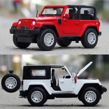 1:32 Free Shipping horsemen Jeep Large Scale Simulation Alloy Car The original car model induced by Super Roadster on behalf