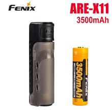 2018 Новый Fenix ARE-X11 зарядный комплект USB зарядка ARB-L18-3500 18650 литий-ионный аккумулятор
