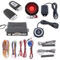 Versão Universal Kit PKE Alarme de Carro Com Auto Ligar/Desligar o Farol, remoto Do Motor de Partida, Botão de pressão e de Aprendizagem de Código