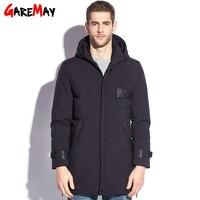 GAREMAY Feather Jacket Men Winter Male Duck Down Jacket Long Plus Size Men S Puffer Down