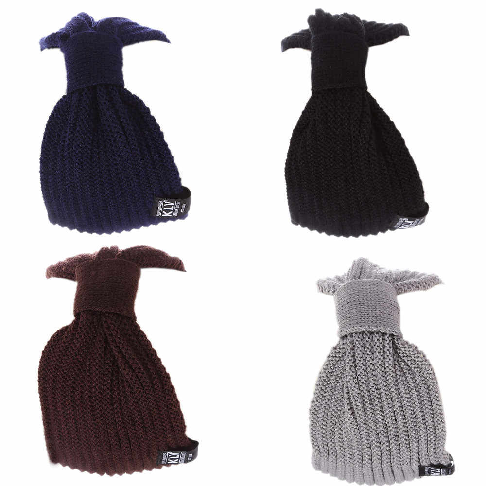 冬暖かい快適なニット男性女性バギービーニースキー帽子だらしないシックなキャップ hoed Y502