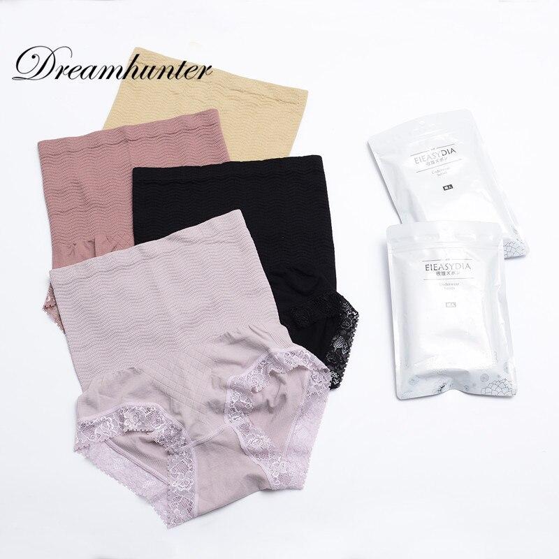Women's Panties High Waist Elastic Briefs Sexy Beauty Care Control Body Women Underwear Women Sexy Lace Panties