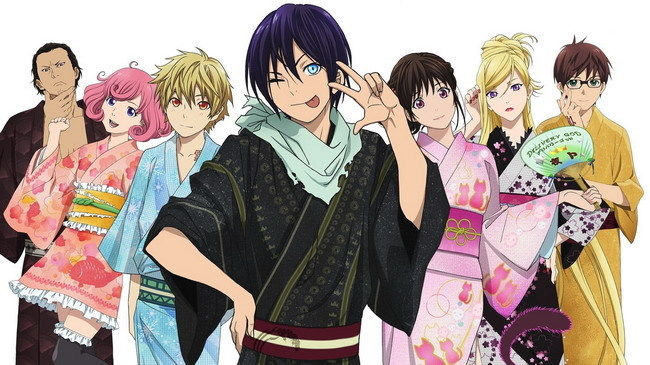 """060 Noragami-lit. Stray God Japanse Anime 25 """"x 14"""" Poster Wil Je Wat Chinese Inheemse Producten Kopen?"""
