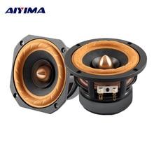 AIYIMA 1Pc 4Inch Audio Portable Full Range speaker 4/8 Ohm 3