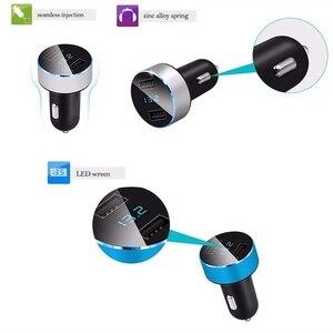 Image 5 - Rovtop 3.1A 5V Dual USB Car Charger Con Display A LED Universale Dellautomobile Del Telefono Caricatore per Xiaomi Samsung S8 iPhone X 8 Più Il Tablet