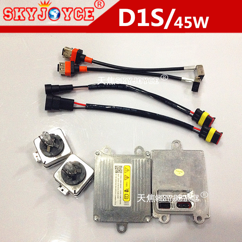 skyjoyce 45w d1s hid xenon kit car external headlight d1c. Black Bedroom Furniture Sets. Home Design Ideas