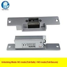 Power off to Lock Access Door Lock Control 12V DC Fail Security NO type Door Electric Strike Lock For Access Control Power Locks