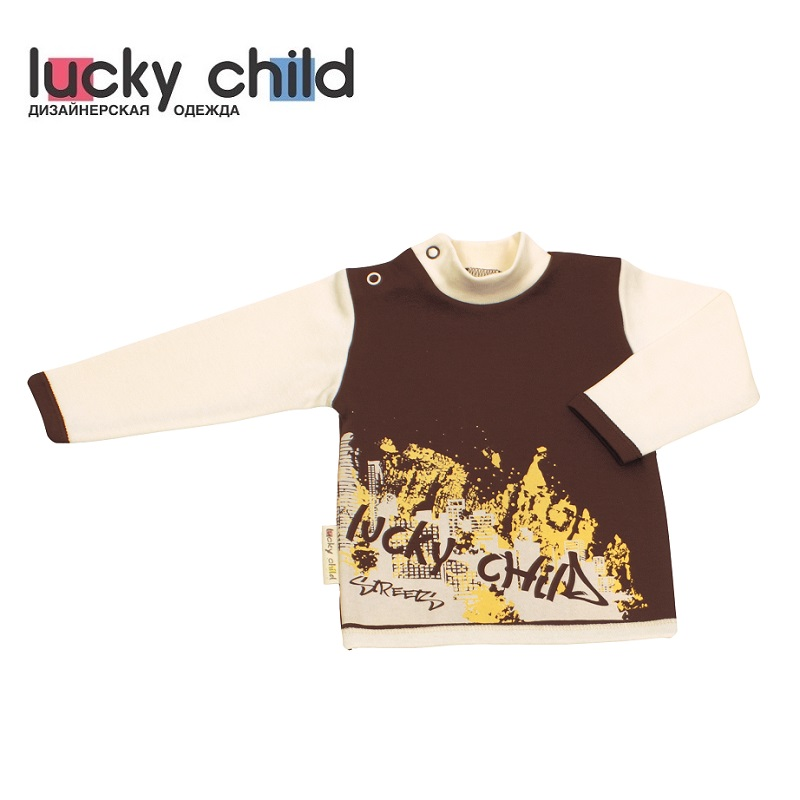 Фото - Hoodies & Sweatshirt Lucky Child for boys and girls 16-23 Kids Baby clothing Children clothes Jersey Blouse contrast lace keyhole back blouse