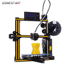 ZONESTAR 2017 Newest Full Metal Aluminum Frame Optional Auto Leveling Laser Engraving Filament Run out Detect 3d printer DIY kit