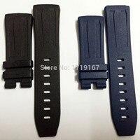 for AP Rubber Watch Band Belt Strap For Piguet Oak Concept GMT Watch Bracelet 26560IO / 26221FT / 26577TI. + Tool