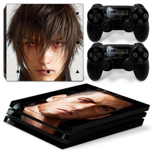 Skull design skin stickers for PS4 Pro console vinyl protective game decal