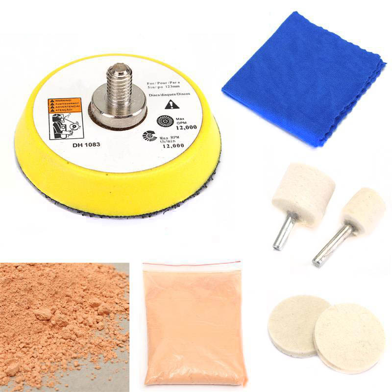 Car Glass Polishing Kit Windscreen Window Scratches Remover Repair Tool TD326