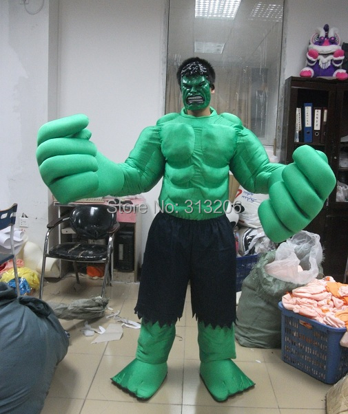 adult character incredible hulk mascot costume & adult character incredible hulk mascot costume-in Anime Costumes ...
