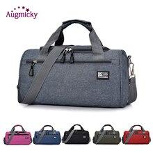 Yoga Sports Bags For Women Men Gym Fitness Bag Waterproof Cylinder One Shoulder Outdoor Sport student bag Travel Package Handbag