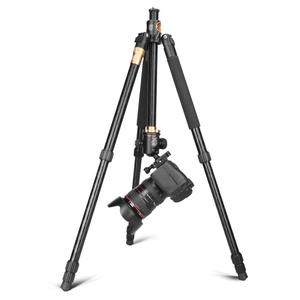 Image 4 - حامل ثلاثي احترافي لكاميرا الفيديو Cadiso Q999H بشاشة 61 بوصة مدمج مناسب للسفر مع حامل ثلاثي أفقي برأس كروية للكاميرا