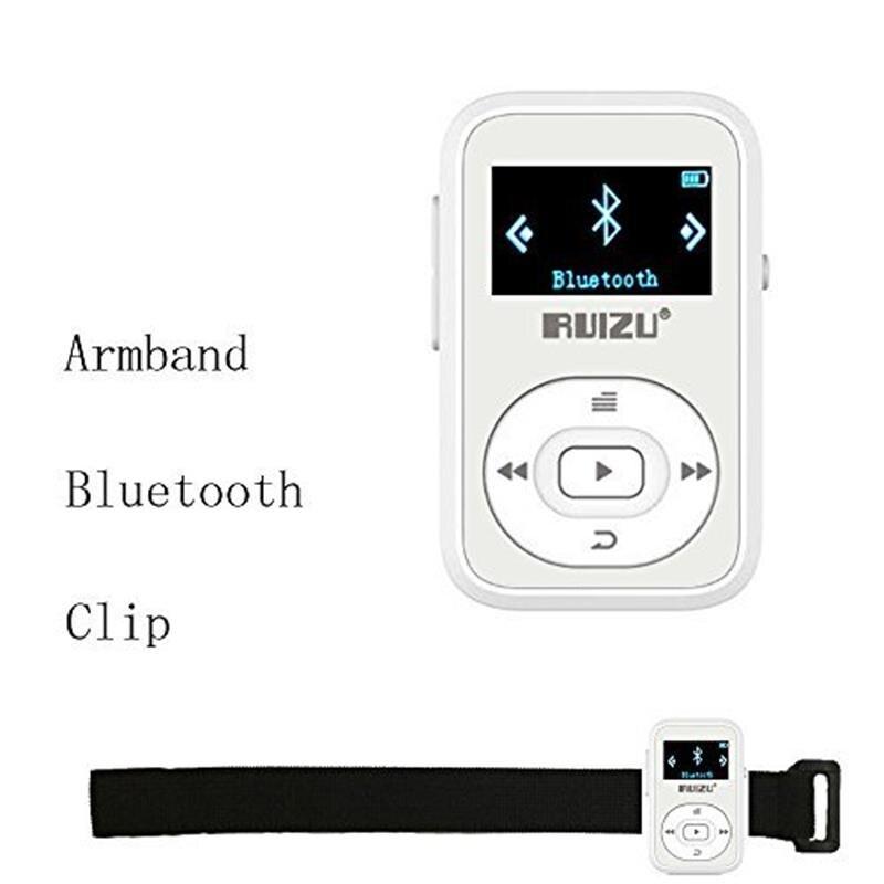 სპორტული კლიპი Bluetooth Mp3 Player 8GB - პორტატული აუდიო და ვიდეო - ფოტო 6