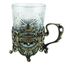 Küche liefert antike nachahmung hitzebeständigem glas tassen und untertassen gravur klar watter flasche kreative geschenk für oma