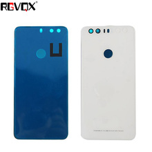 New Back Cover For HUAWEI honor 8 Housing Battery Door Rear High Quality Replacement White Black