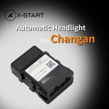 x-start car auto headlight sensor automatic turn on light response control opener for Changan cs15 cs35 eado alsvin v7 cx70 t