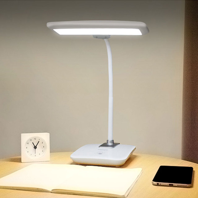 Rechargeable Desk Lamps LED Table Lamps 3 Levels Touch Dimmer Modern Led  White ABS Lamparas De