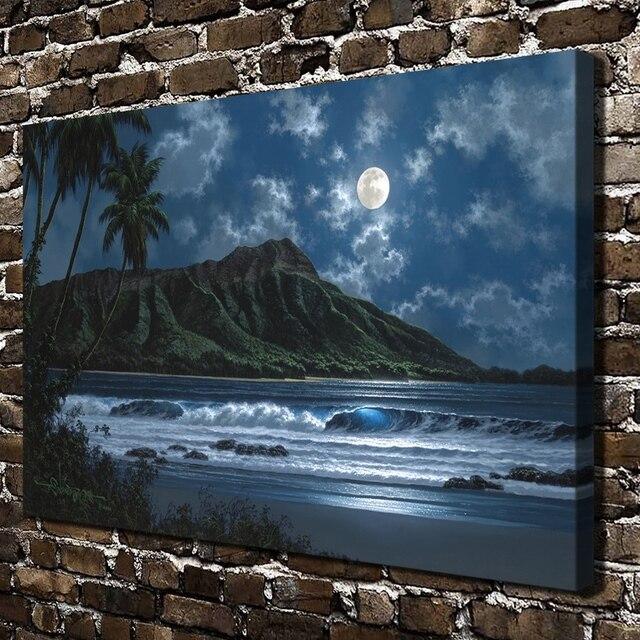 Gm 28 Roy Gonzalez Tabora Notte Paesaggio Di Montagna Hd Stampa Su