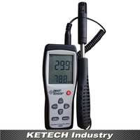 Smart Sensor AS847 Potable Humidity K Type Thermocouple Temperature Meter 2in1