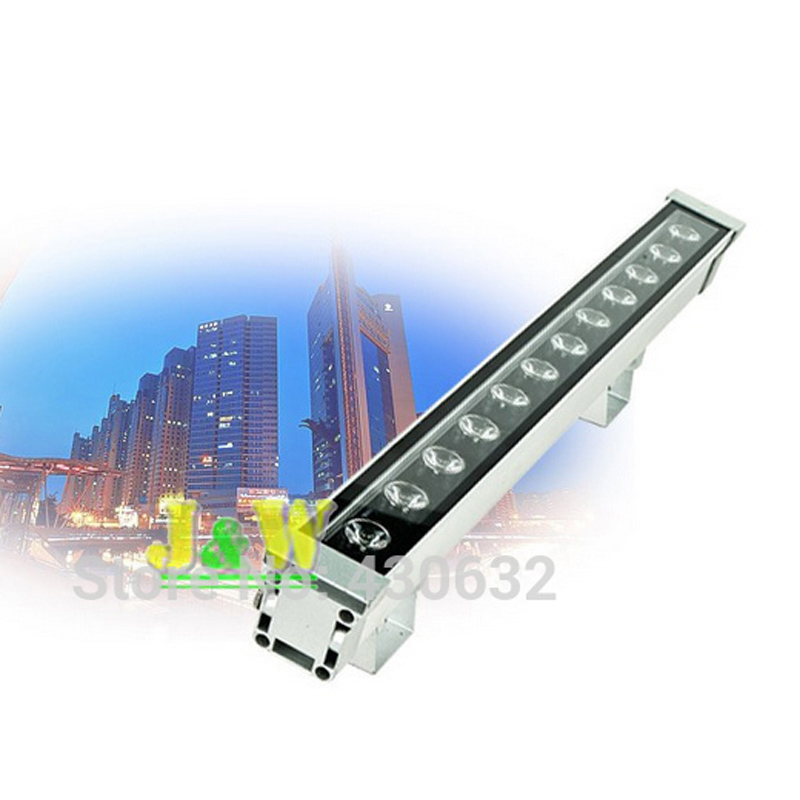 10pcs/ lot, LED Wall Washer light 12W   IP65  outdoor lights led flood ligh with  IR remote controller or DMX512 6pcs lot 24x4w 4in1 led wall washer light outdoor rgbw led flood light dmx 512 led bar light 90v 240v led stage light