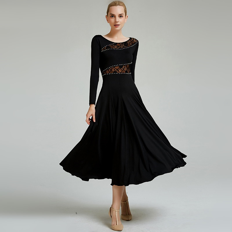 Standard Dance Dresses Cheap Ballroom Dress Rumba Dance Wear Woman Flamenco Dress Waltz Dress Spanish Dance Costumes
