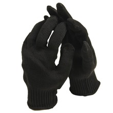 Black reduce resistant gloves working gloves security protecting palms from knife