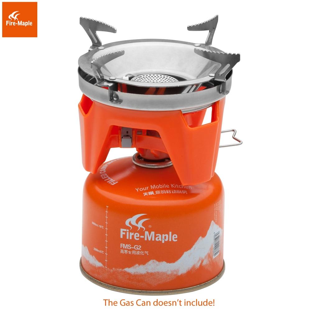 Fire Maple X2 En Plein Air Cuisinière À Gaz Brûleurs Compact Système de Cuisson Avec Échangeur De Chaleur Pot FMS-X2 Camping Trekking & Poêles - 5
